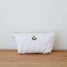 POOL EVERYDAY Cotton Quilted Pouch - Dandelion